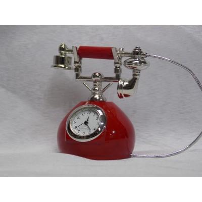 Namizna ura telefon (rdeča ref.:0001)