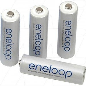 Baterija Panasonic Eneloop AA 1900 mAh  (4 kos)