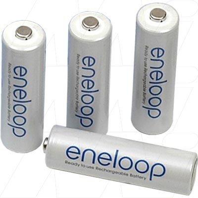 PANASONIC baterija Eneloop AA 1900 mAh  (4 kos)