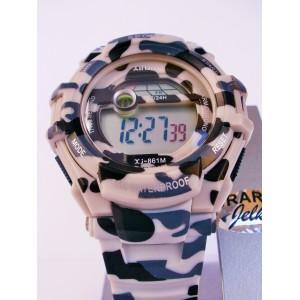 Digitalna ročna ura XJ-861M vojaška (art.:0006)