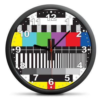 Stenska ura TV SIGNAL art GAD01225 tih mehanizem