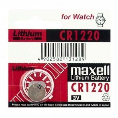 Baterija Maxell CR 1220 Lithium 3 V