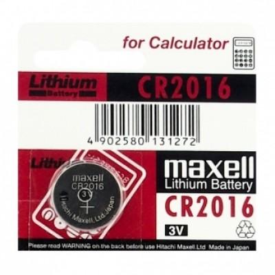 Baterija Maxell CR2016 Lithium 3 V
