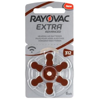 Baterija RAYOVAC 312 1,45V za slušni aparat