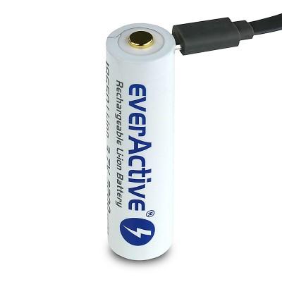 Baterija akumulator EVERACTIVE 18650 3,7 v Li-ion 3200mAh micro USB