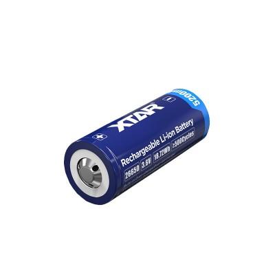 Baterija akumulator 26650 XTAR  3,6V Li-ion 5200mAh baterija z zaščito