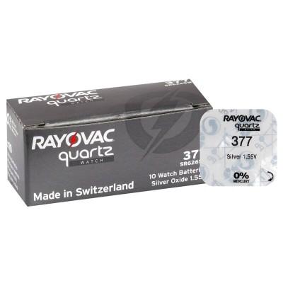 Baterija RAYOVAC 377-376-SR 626 SW-G4 za ročno uro