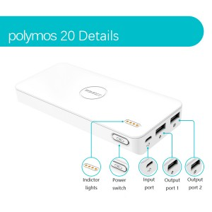 Power bank ROMOSS Polymoss 20 20000mAh
