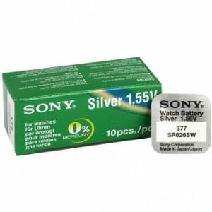 Baterija Sony 377 SR626SW Silver-oxide 1,55V