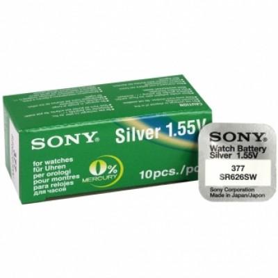 Sony 377 SR626SW Silver-oxide 1,55V