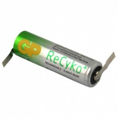 Baterija GP 2100 mAh AA spajkalni priključek Z