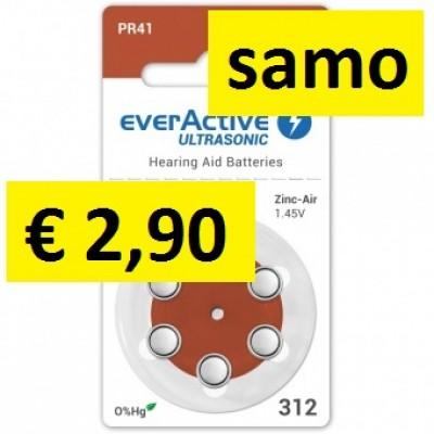 Baterija Everactive 312 za slušni aparat