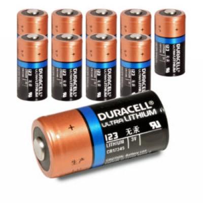 Baterija Duracell CR123 3V Lithium (1 kos)