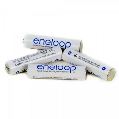 PANASONIC baterija Eneloop AAA 750 mAh NiMH (1 kos)
