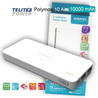 Power Bank ROMOSS Polymoss 10 Air 10000m