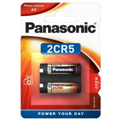 Baterija Panasonic 2CR5 Foto litijeva baterija DL245