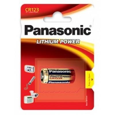 Baterija Panasonic CR123 Lithium 3V