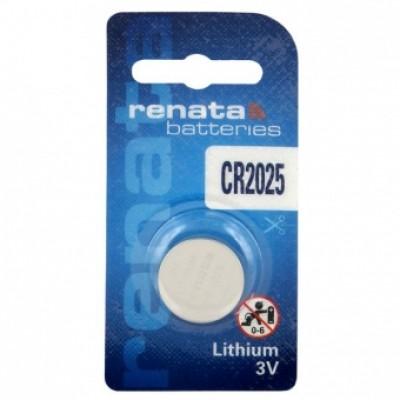 Renata CR2025 Lithium 3 V