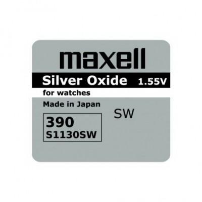 Baterija za ročno uro Maxell 390 389 AG10 LR1130