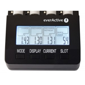 Polnilec za baterije EverActive NC-3000