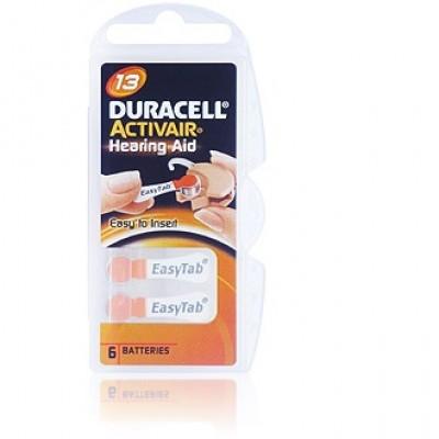 Baterija Duracell 13 1,4 V (6 kos)