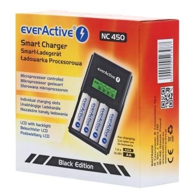 Polnilec baterij EverActive NC-450