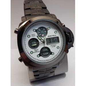 Moška ročna ura BISTEC (ref:8031/bela)