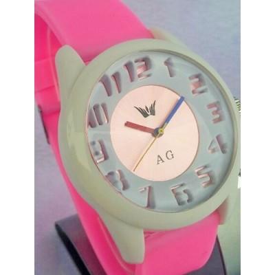 Ženska ročna ura AG (ref.:10010/pink)
