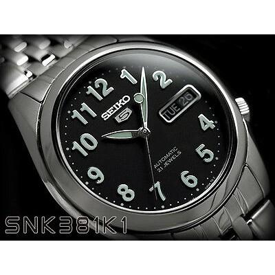 Moška ročna ura SEIKO 5 automatic SNK381K