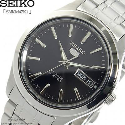 Moška ročna ura SEIKO 5 automatic SNKM47K1